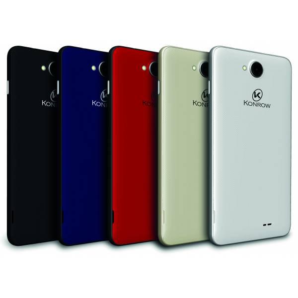 Konrow Easy Touch - Smartphone 4G - Android 7.0 - Ecran 4.5'' - Double Sim - 8Go, 1Go RAM