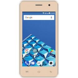 Konrow Easy Feel - Smartphone Android - 4G - Ecran 5'' - Double Sim - 16Go, 1Go RAM - Or