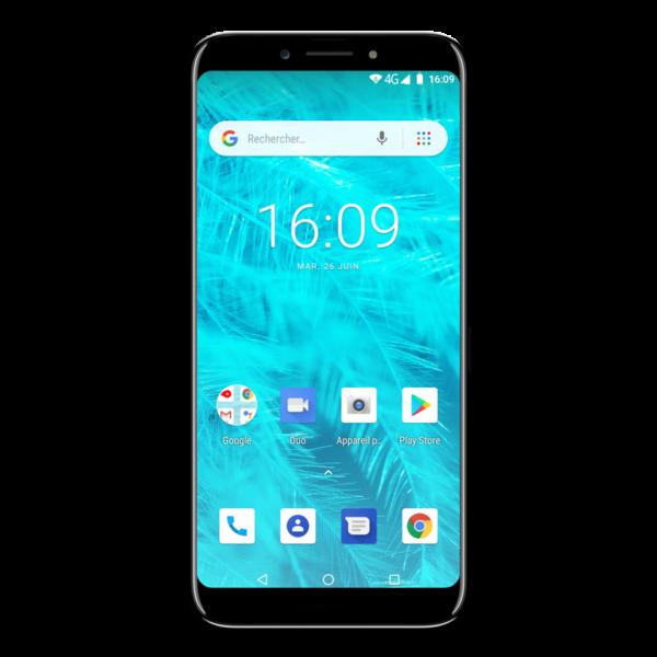 Konrow Sky Lite - Smartphone Android - 4G - Écran 5.45'' - Double Sim - 16Go, 1Go RAM