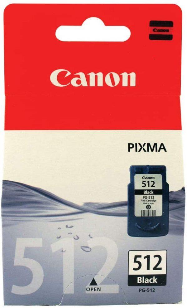 Cartouche noire Canon 512