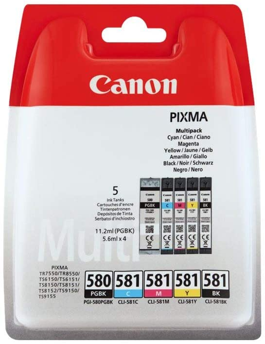 Multipack Canon PG-580/CL-581