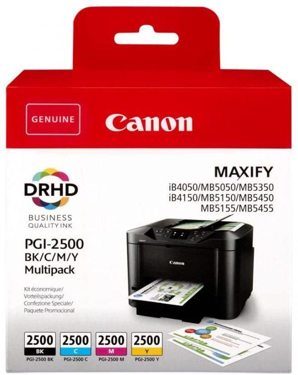 Multipack Canon PGI-2500