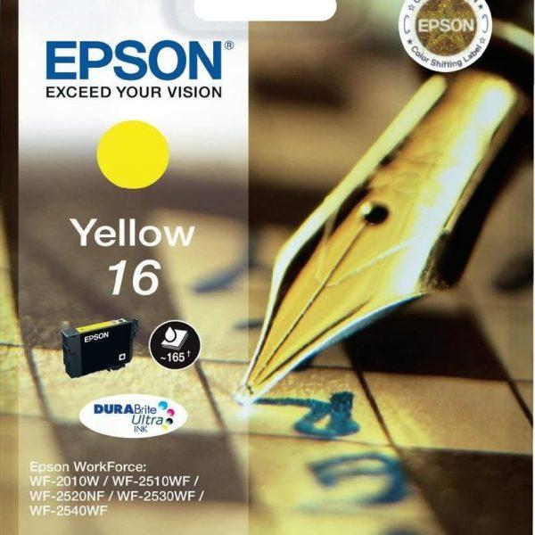 Cartouche jaune Espon 16