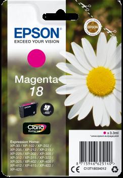 Cartouche d'encre Magenta Epson 18
