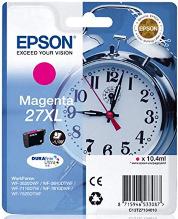 Cartouche d'encre Magenta Epson 27XL