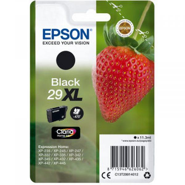 Cartouche d'encre Noire grande capacité Epson 29XL
