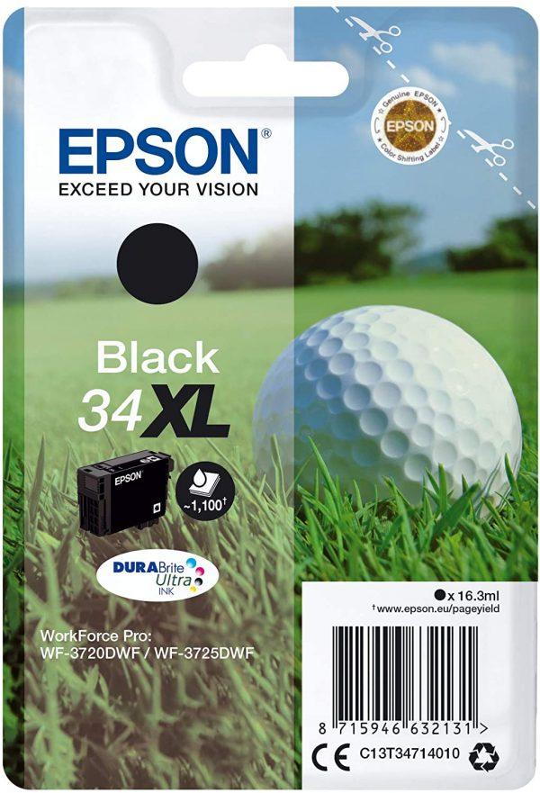 Cartouche d'encre noire Epson 34XL