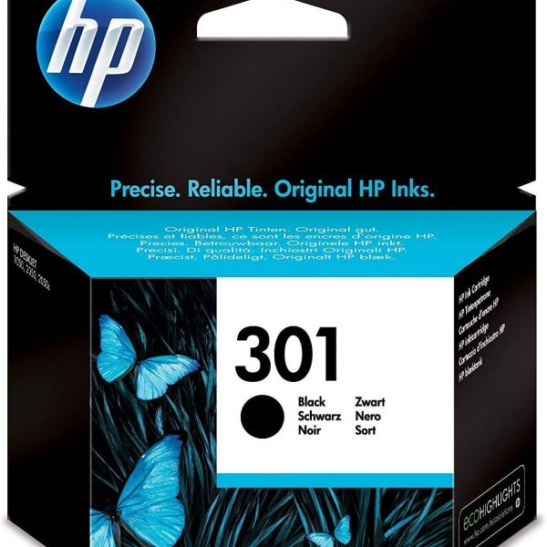 Cartouche d'encre noire HP301