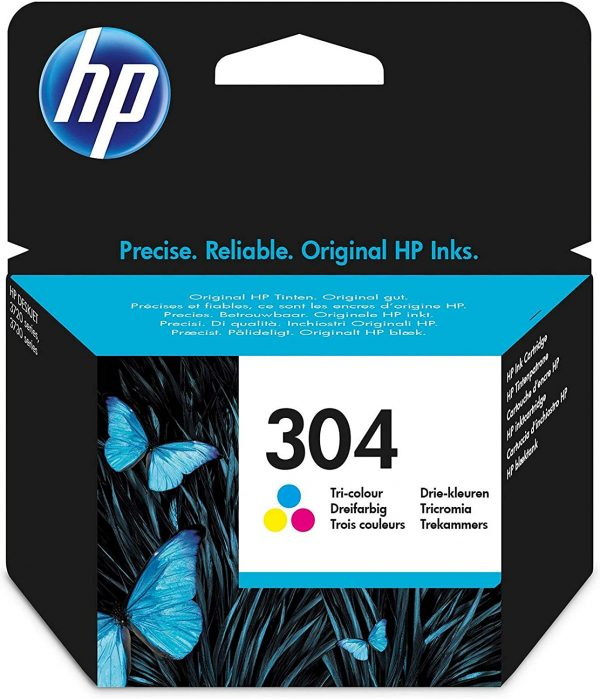 Cartouche couleur HP304