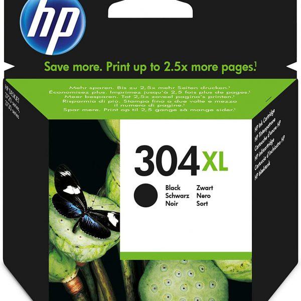 Cartouche grande capacité d'encre noire HP 304