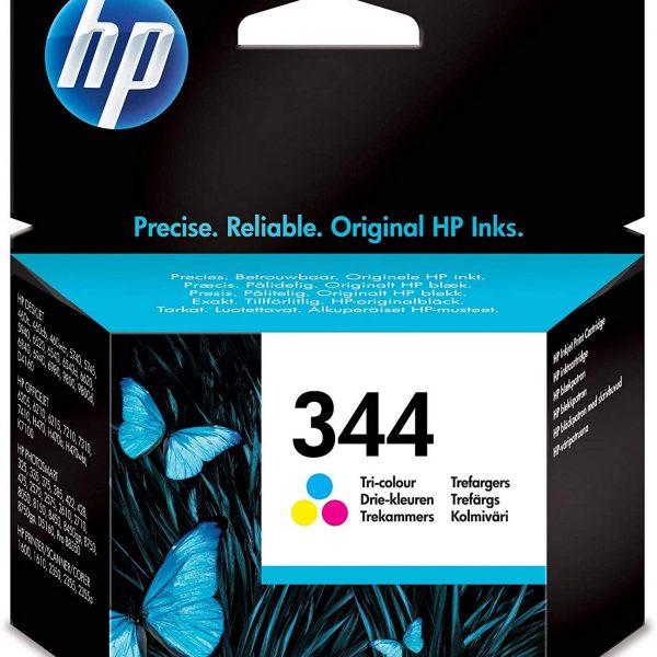 Cartouche grande capacité d'encre couleur HP 344