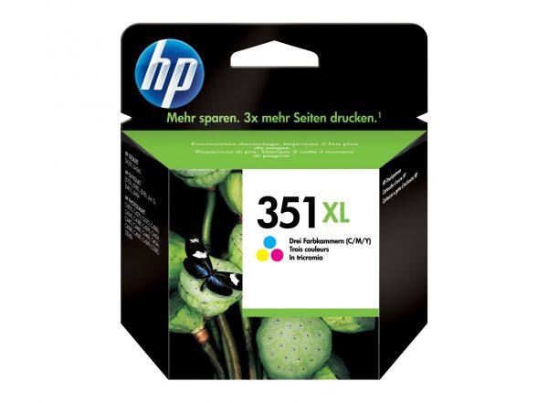 Cartouche d'encre 3 couleurs HP 351XL