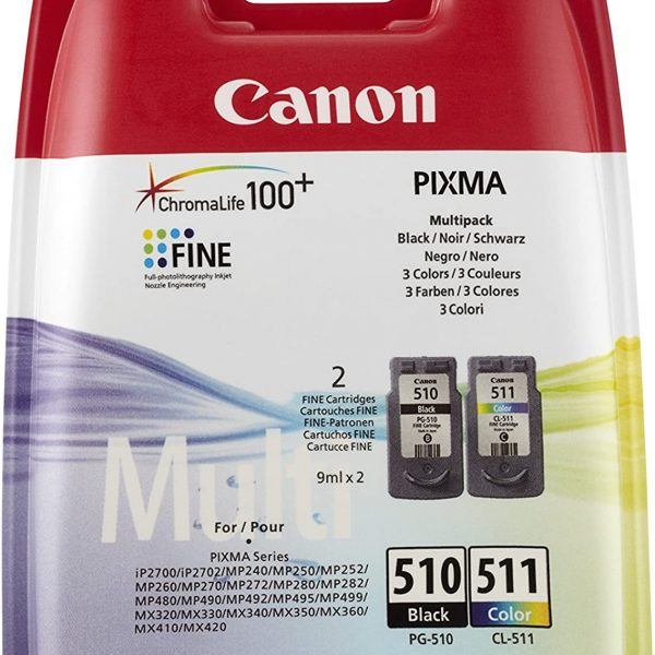 Multipack Canon PG-510/CL-511