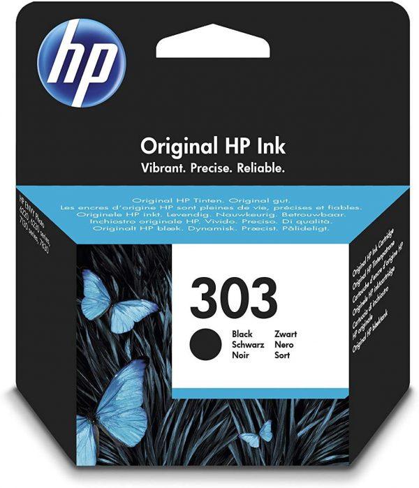 Cartouche d'encre noire HP 303