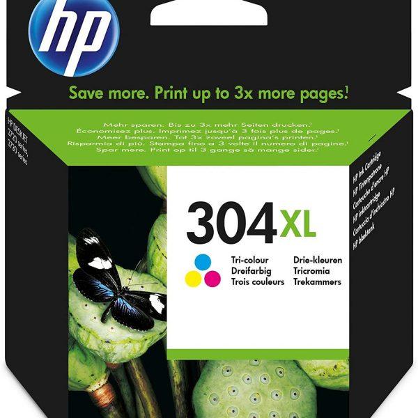 Cartouche d'encre couleurs HP 304XL
